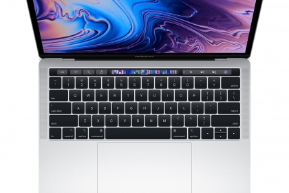 Macbook pro 2019 MUHP 13 inch 128Gb Silver Touchbar