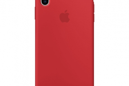 Apple Ốp lưng iPhone XS Max Silicon Red